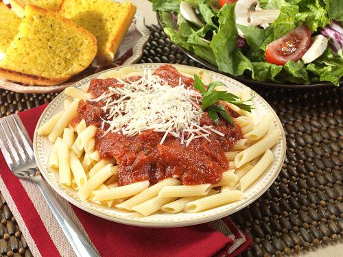Freeze-Dried Italian Pasta With Marinara