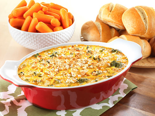 Freeze-Dried Cheese and Broccoli Bake