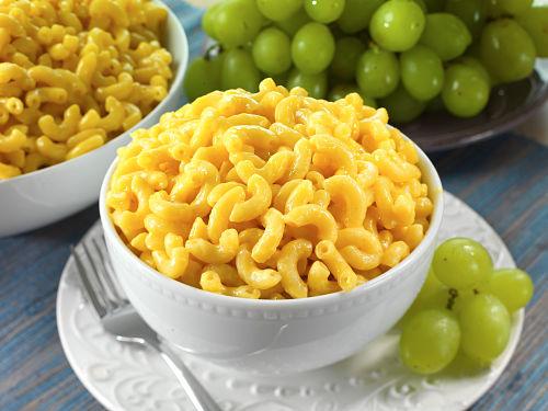 Freeze-Dried Macaroni and Cheese
