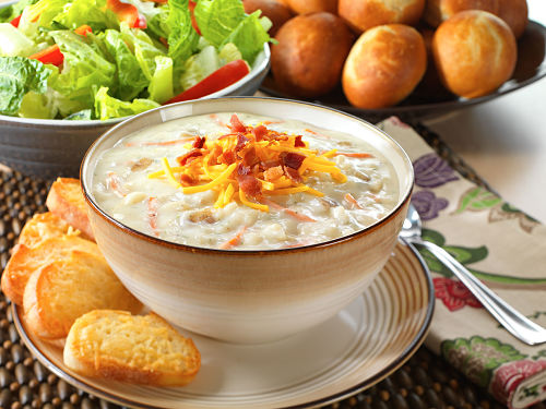 Freeze-Dried Creamy Potato Soup Mix