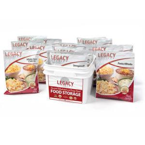 lont-lasting emergency food storage