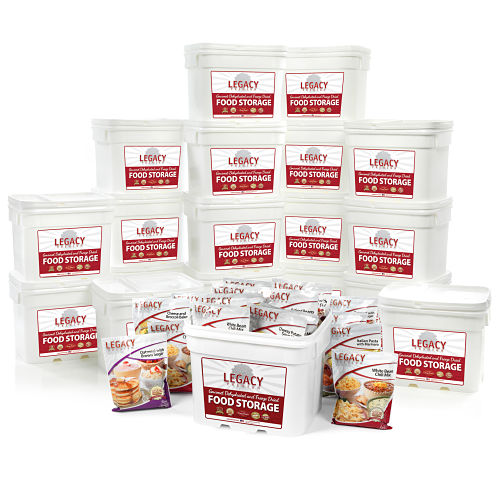 Bulk 2,160 Serving Freeze-Dried Food