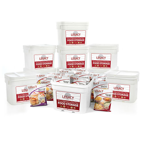 Bulk 1,080 Serving Freeze-Dried Food