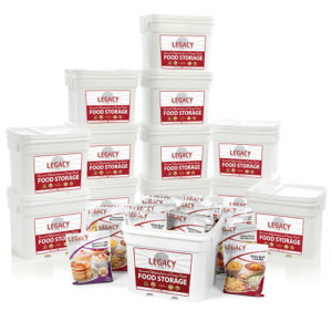 Bulk 1,440 Serving Freeze-Dried Food