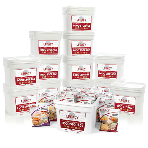 Bulk 1,440 Serving Freeze-Dried Food