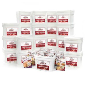 Bulk 2,880 Serving Freeze-Dried Food
