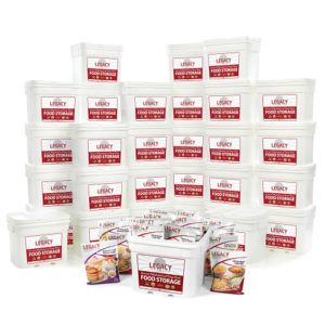 Bulk 4,320 Serving Freeze-Dried Food