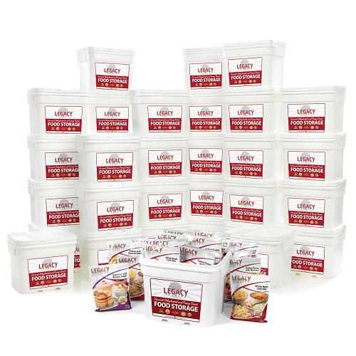 Bulk 4,320 Serving Freeze-Dried Food