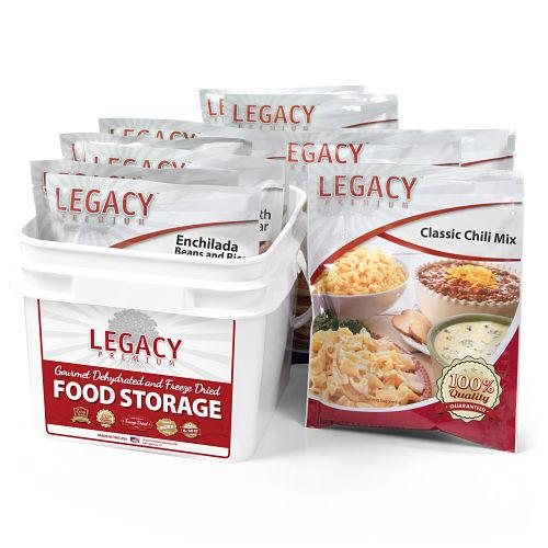 gluten free long term emergency food