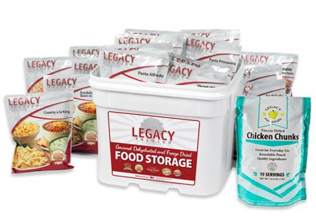 Long-term food storage