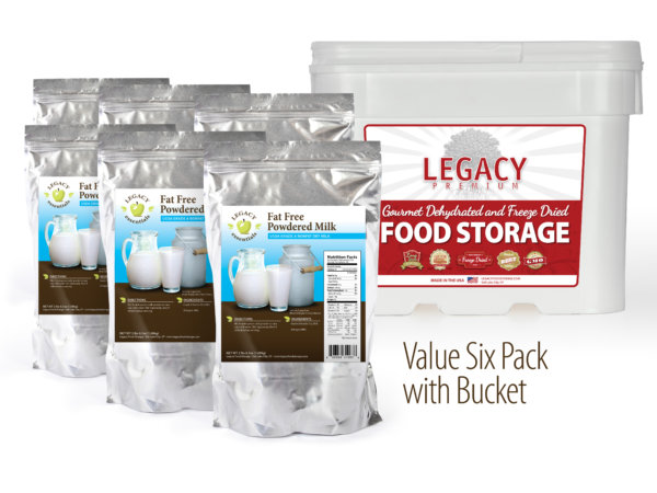 Long-term food storage
