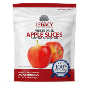 freeze dried apples