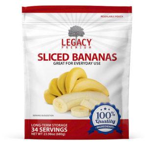 freeze dried bananas