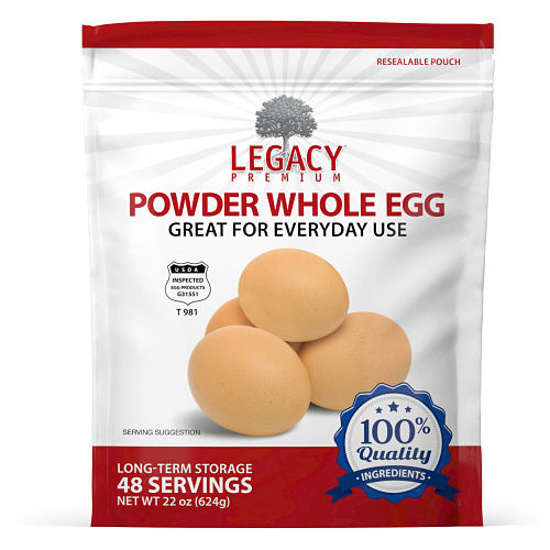 whole powdered eggs
