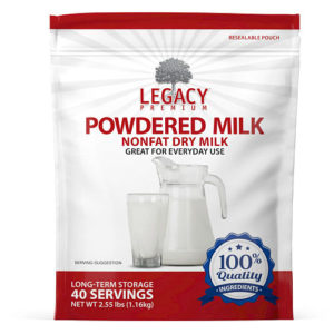 long term emergency milk