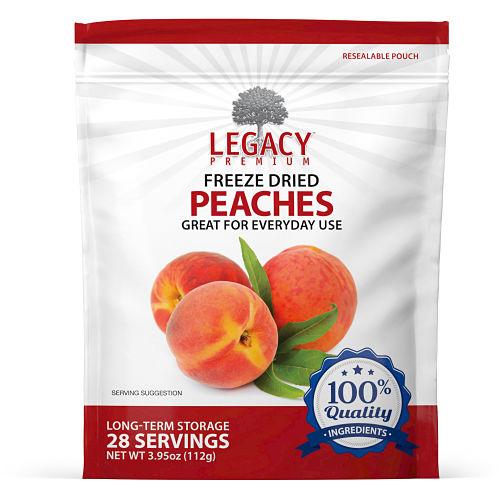 freeze dried peaches
