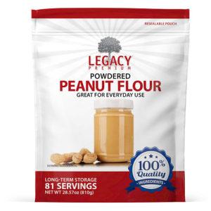 powdered peanut flour