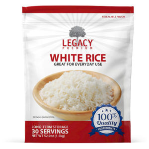 long term rice storage