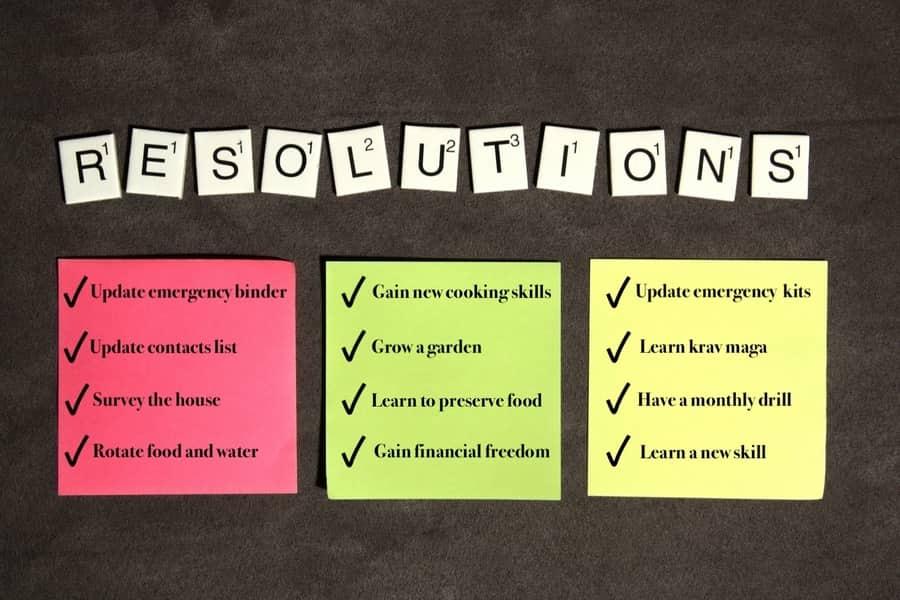 25 Preparedness Goals