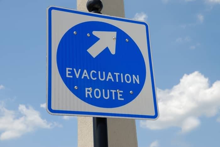 How to evacuate without a vehicle