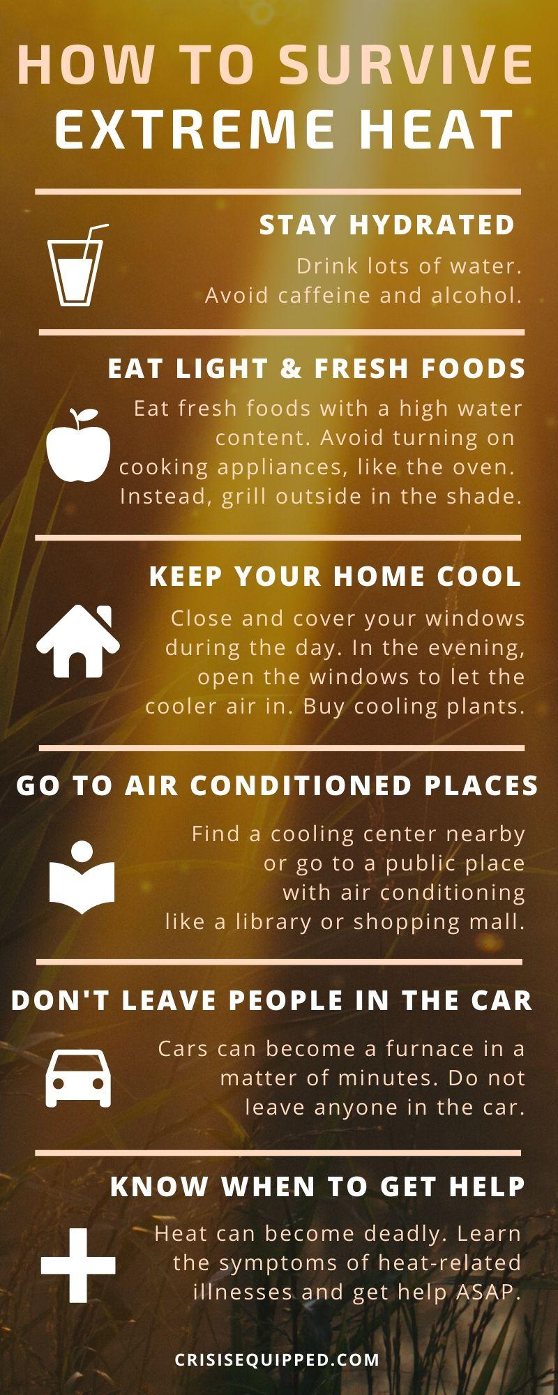 extreme heat preparedness