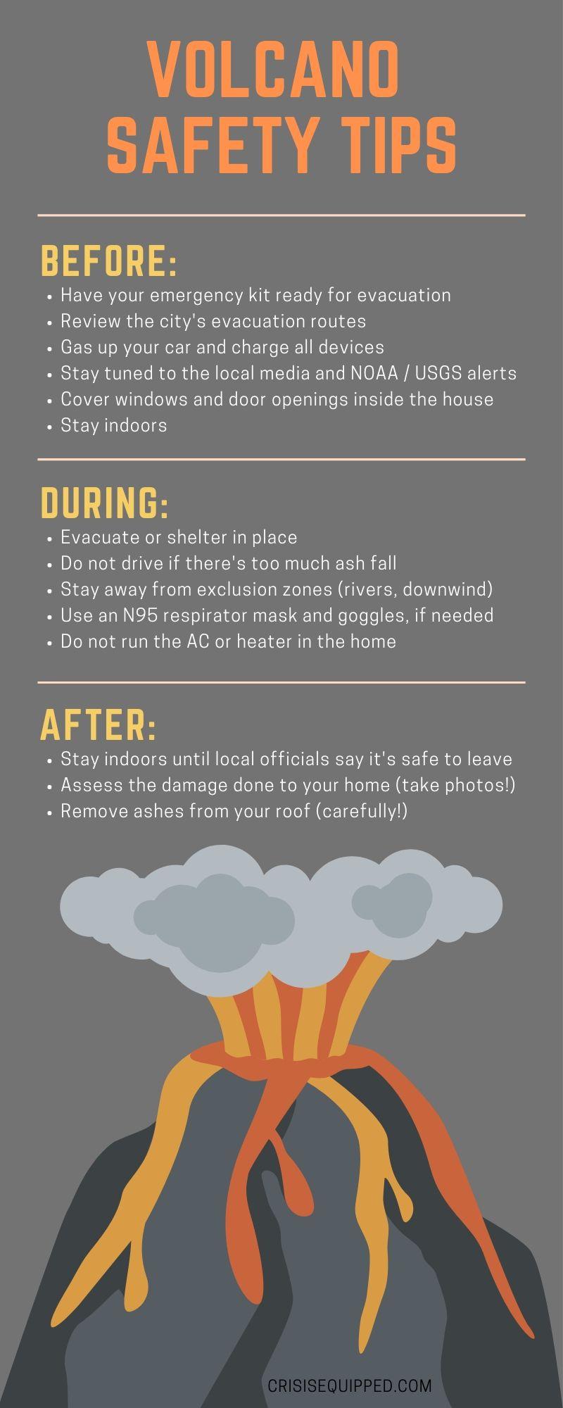 volcano preparedness