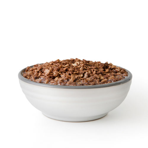 Long-lasting chocolate grain cereal