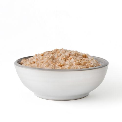 Long-lasting apple cinnamon oatmeal