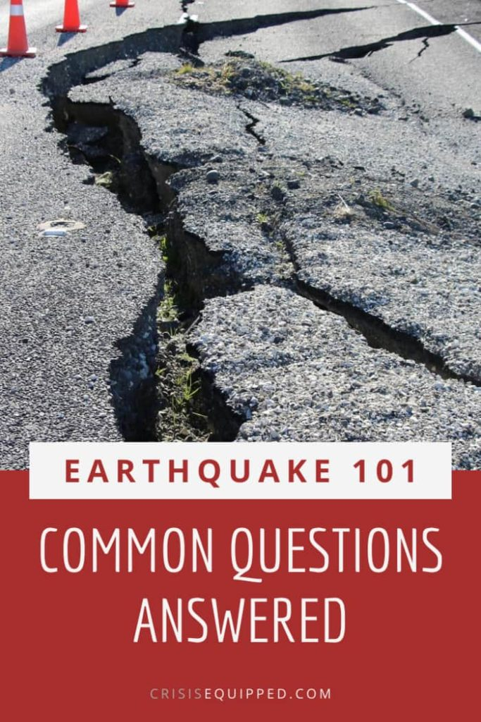 Earthquake FAQs