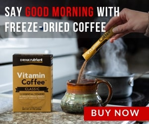 Freeze dried coffee
