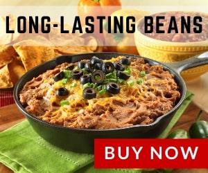 Long-lasting beans