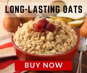 Long-lasting oats