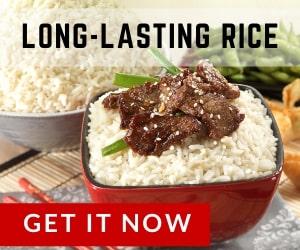 Long-lasting rice