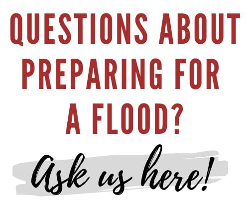 Prepare for a flood