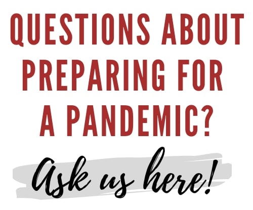 Prepare for a pandemic