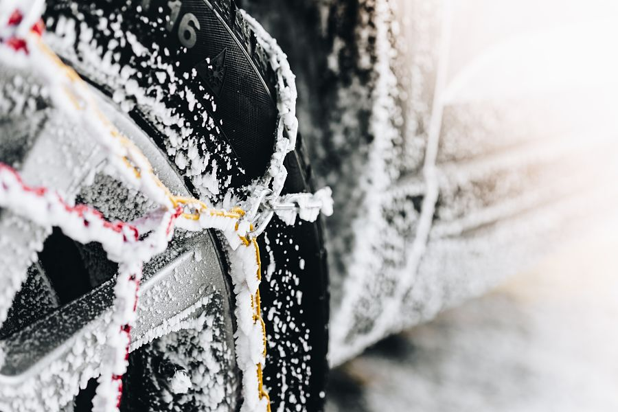 Snow Chains vs Cables, Spider Spikes, and Tire Socks: What's Right for You?